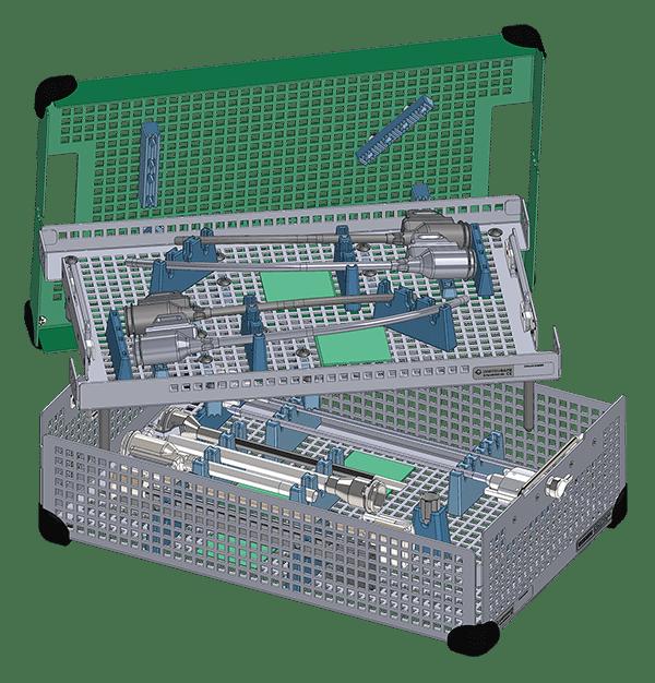 <em>Xi Single-Site</em> Accessory Tray