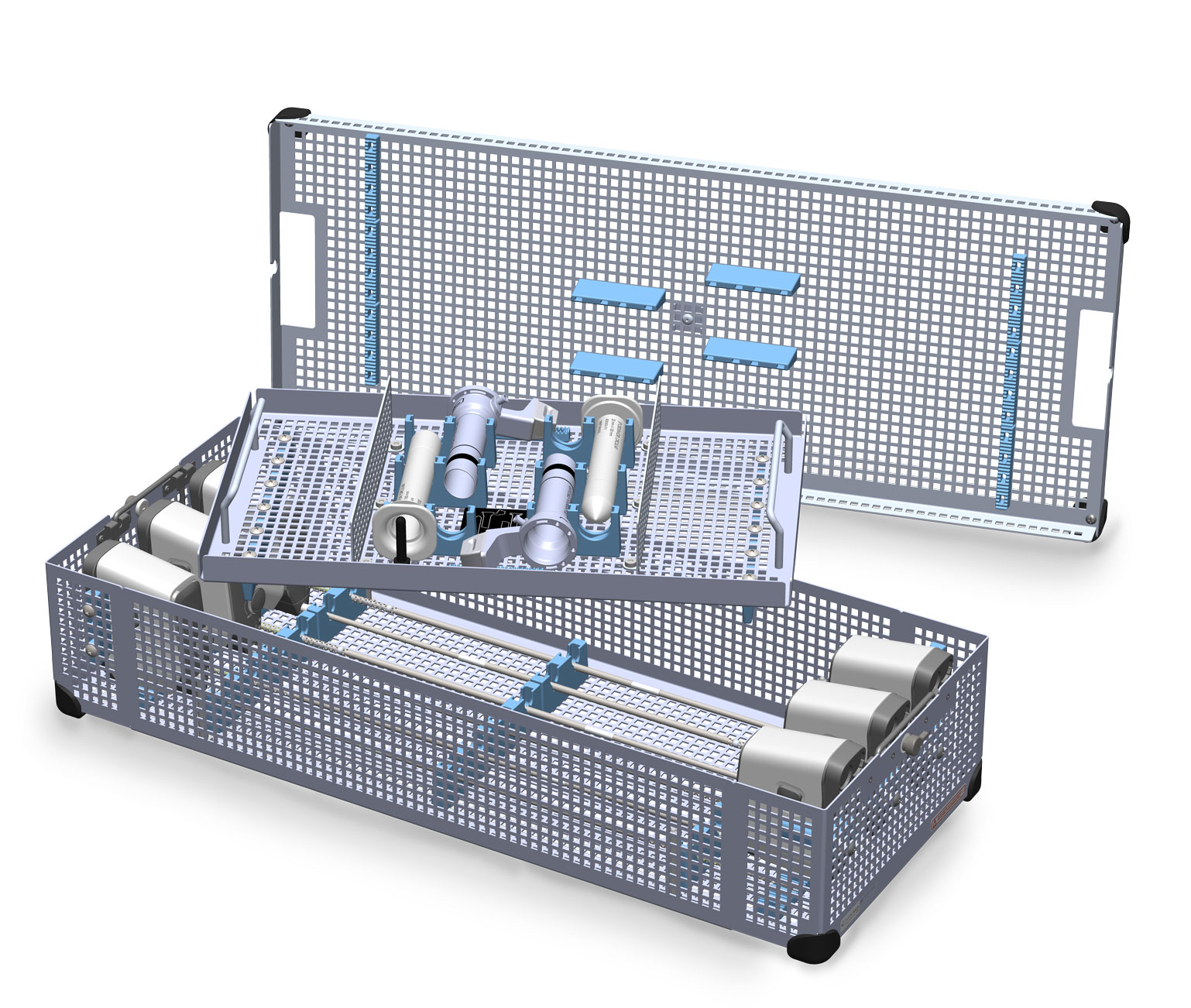 Six Instrument Procedure Tray