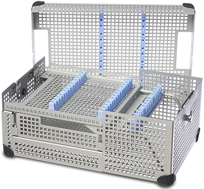 Endoscopy Instrument Tray, 3-Level, ¾ Size