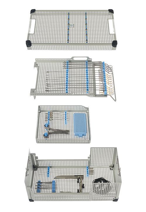 Full Size Endoscopy Instrument Tray