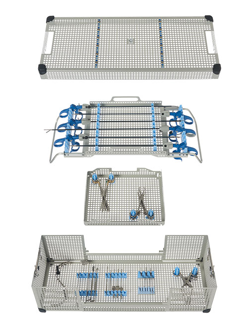 Extra Long Laparoscopic Instrument Tray