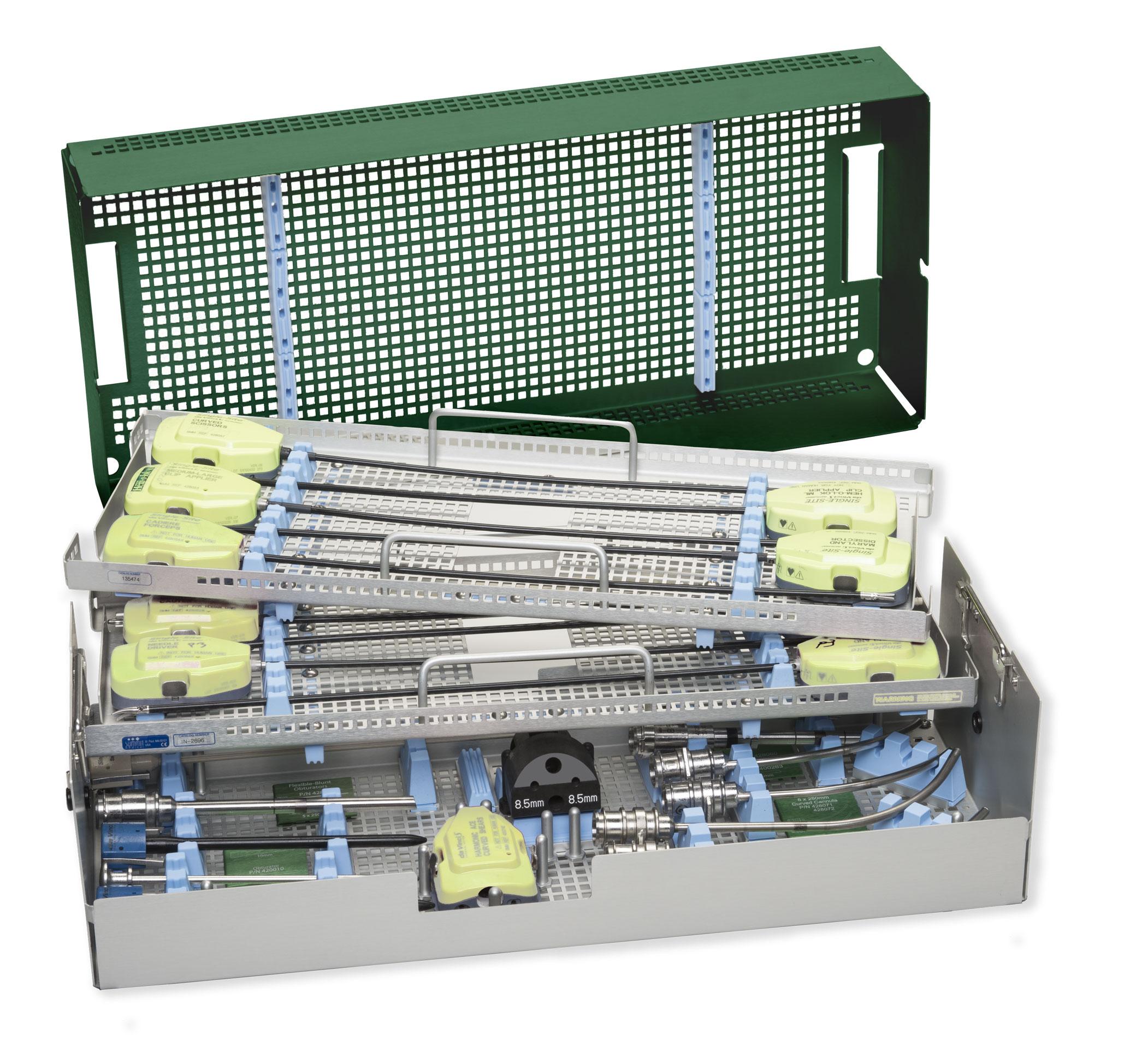 Ten Instrument Procedure Tray