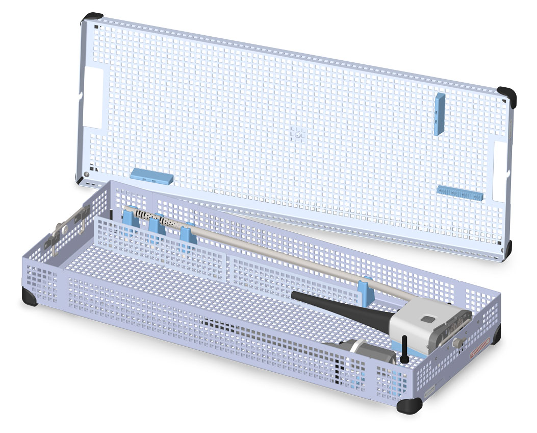 Single Endoscope Tray