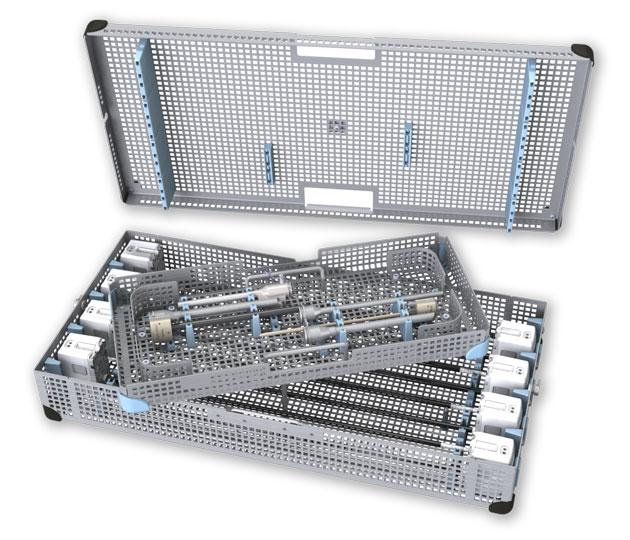 Eight Instrument Procedure Tray